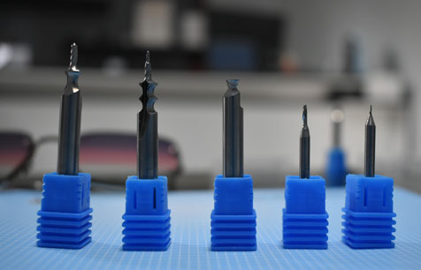 Carbide End Mill for Optical Industry
